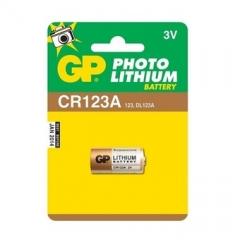Pin GP Photo Lithium CR123A - 3V