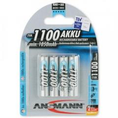 Pin Sạc AAA-1100 BL4 ANSMANN vỉ 4 viên (chính hãng)