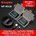 Pin sạc máy ảnh Fujifilm W-126s chính hãng Kingma