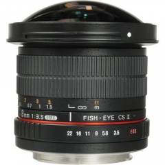 Samyang 8mm f/3.5 Asph IF MC Fisheye CSII for Canon