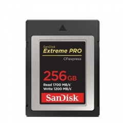 SanDisk 256GB Extreme PRO CFexpress Type B