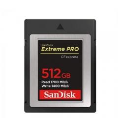 SanDisk 512GB Extreme PRO CFexpress Type B
