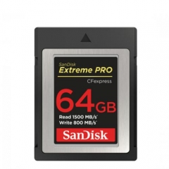 SanDisk 64GB Extreme PRO CFexpress Type B