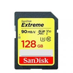 SanDisk Extreme 90MB/s UHS-I U3 128GB SDXC (chính hãng)