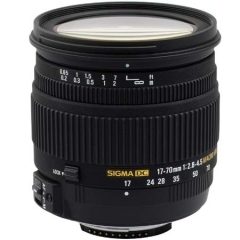 Sigma 17-70mm f/2.8-4.5 DC Macro For Nikon