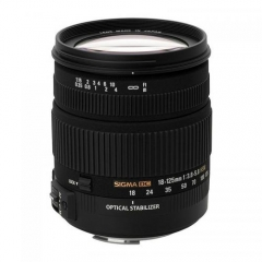 Sigma 18-125mm f/3.8-5.6 DC OS HSM for Nikon Canon