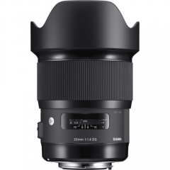 Sigma 20mm f/1.4 DG HSM Art for Canon/Nikon/Sony E