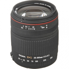 Sigma 28-300mm f/3.5-6.3 DG IF Macro for Nikon