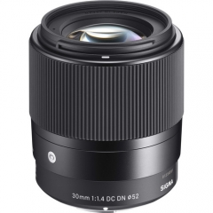Sigma 30mm f/1.4 DC DN Contemporary for Sony E/Canon EF-M