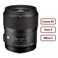 Sigma 35mm f/1.4 DG HSM Art for Canon/Nikon/Sony E