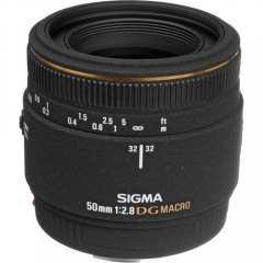 Sigma 50mm f/2.8 EX DG Macro For Nikon