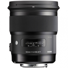 Sigma 50mm F1.4 DG HSM Art for Nikon/ Canon/ Sony E