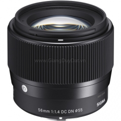 Sigma 56mm f/1.4 DC DN Contemporary for Sony E/Canon EF-M