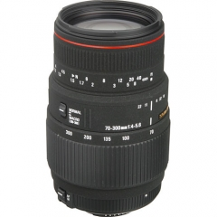 Sigma 70-300mm f/4-5.6 APO DG Macro for Nikon/Canon