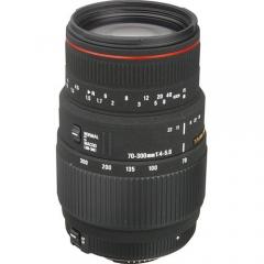 Sigma 70-300mm f/4-5.6 APO DG Macro for Nikon/Canon