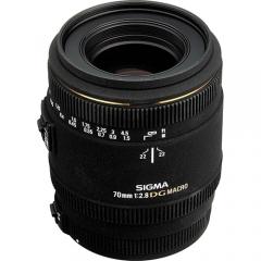 Sigma 70mm/2.8 EX DG Macro for Canon