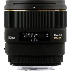 Sigma 85mm f/1.4 EX DG HSM for Ni/ Ca (chính hãng)
