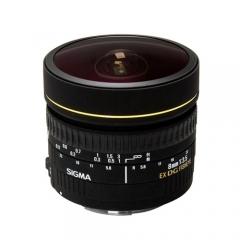 Sigma 8mm f/3.5 EX DG Circular Fisheye for Canon/ Nikon