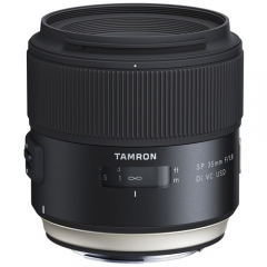 Tamron SP 35mm F/1.8 Di VC USD for Canon/Nikon