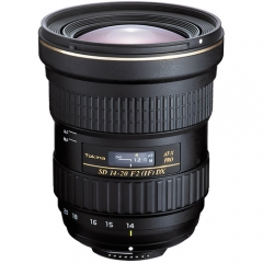 Tokina AT-X 14-20mm f/2 PRO DX Lens for Nikon Canon