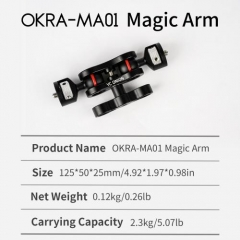 YC ONION OKRA-MA01 Magic Arm Aluminium Alloy 1/4